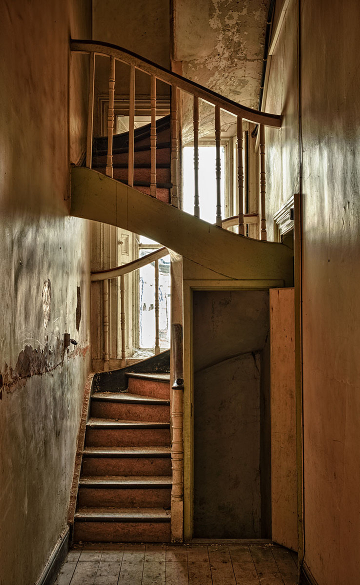 Photograph Spiral Staircase by Lawrence Wheeler on 500px