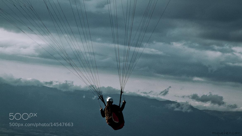 Photograph Paragliding by Mathieu Quehen on 500px