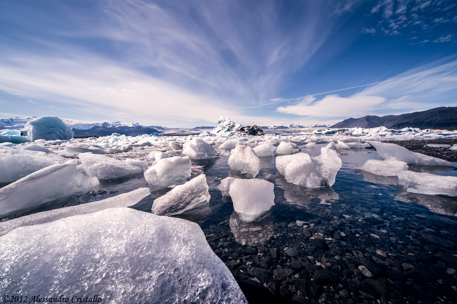 Photograph Ice, water, sky by Alessandro Cristallo on 500px