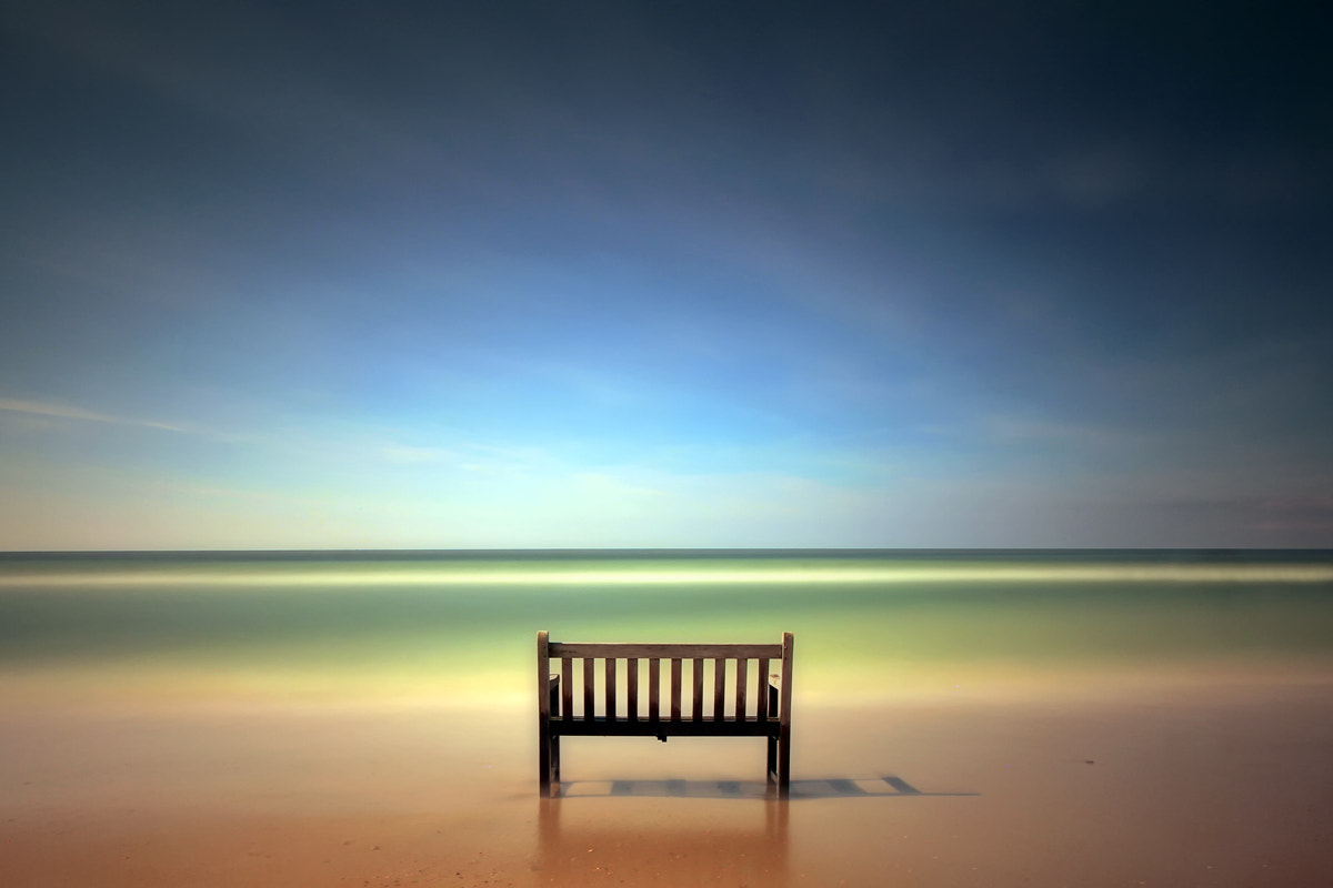 Photograph Bench with sea view by Kees Smans on 500px