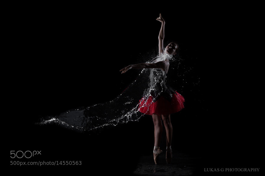 Photograph Water ballerina by Lukas G on 500px