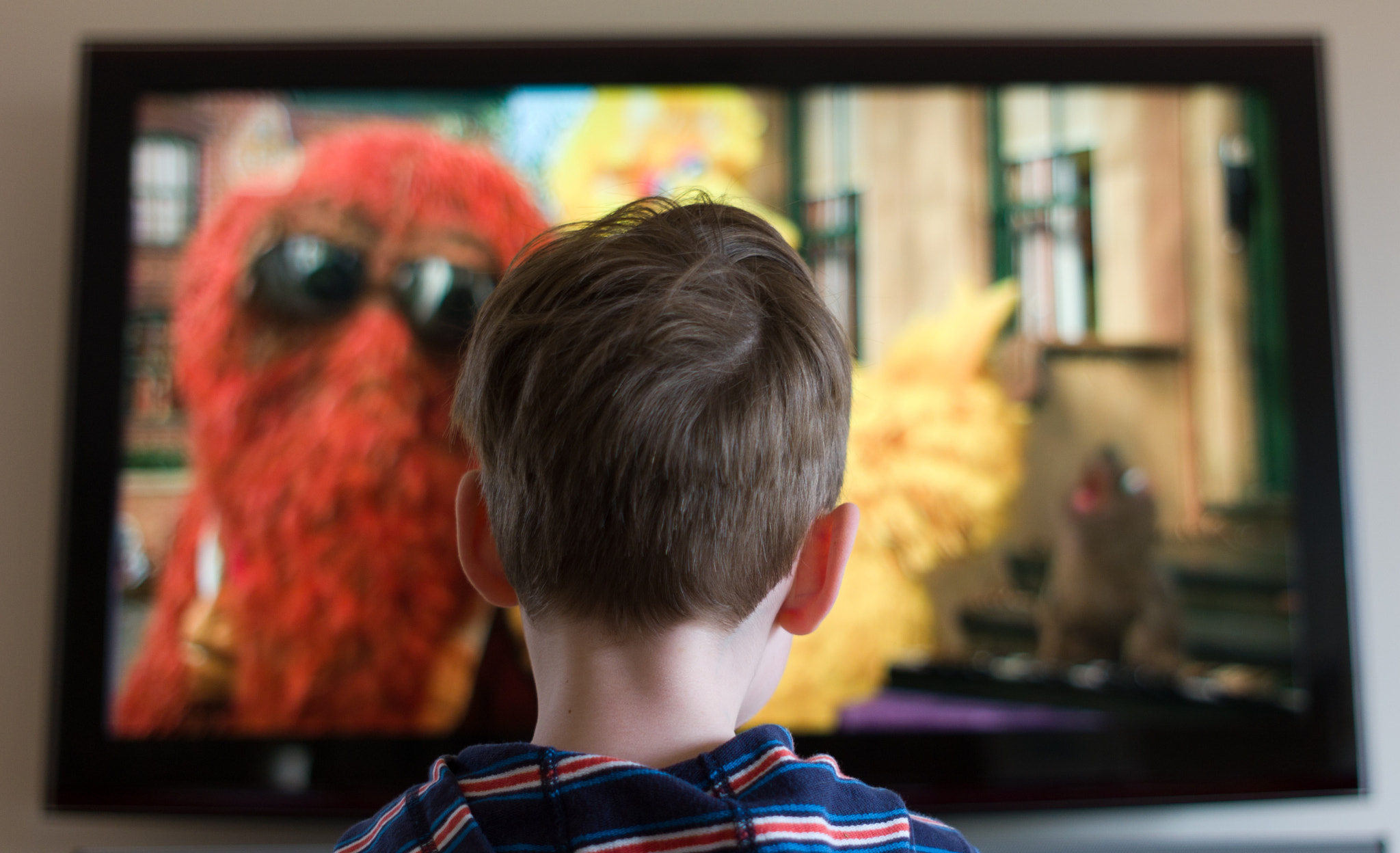 Photograph Watching Sesame Street by Darren Rowse on 500px