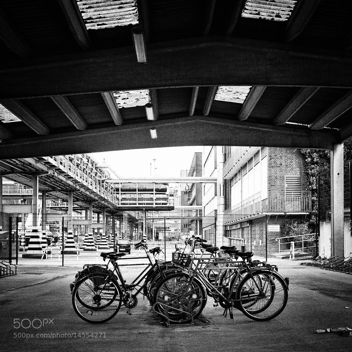Photograph parking garage by Andrea Schuh on 500px