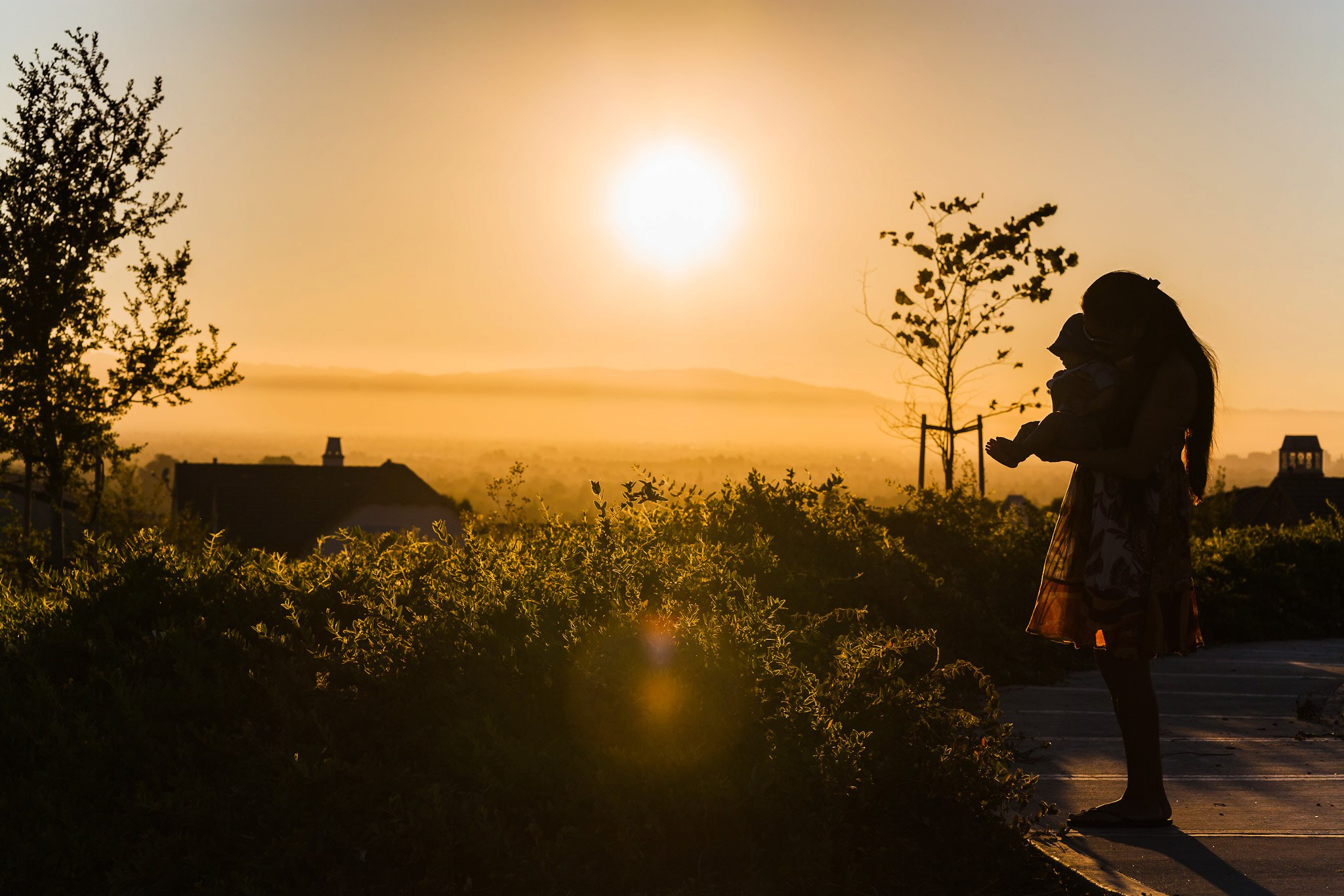 Photograph Mommy holding baby during sunset by Thy Sok on 500px