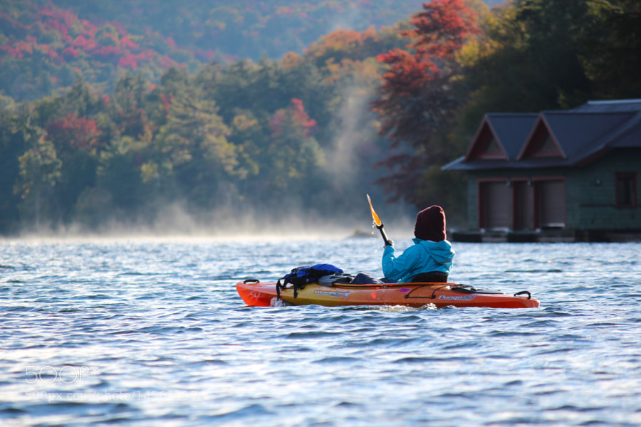 Photograph Autumn Paddle by Evan Williams on 500px