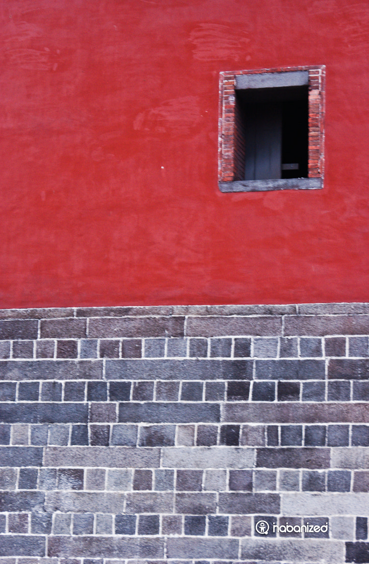 Photograph Red Wall by Eugene W on 500px