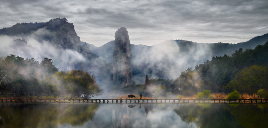 Fairy Land of Zhejiang by ThierryBornier on 500px.com