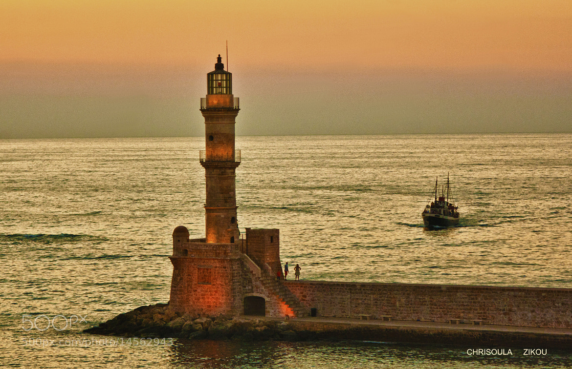 Photograph LIGHTHOUSE- CHANIA CRETE by Chriss Zikou on 500px