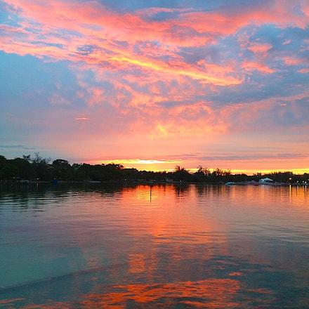 Nassau Sunset. Nassau Paradise Island Bahamas