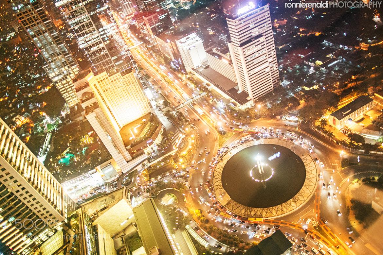 Photograph Jakarta at Night by Ronnie Renaldi on 500px