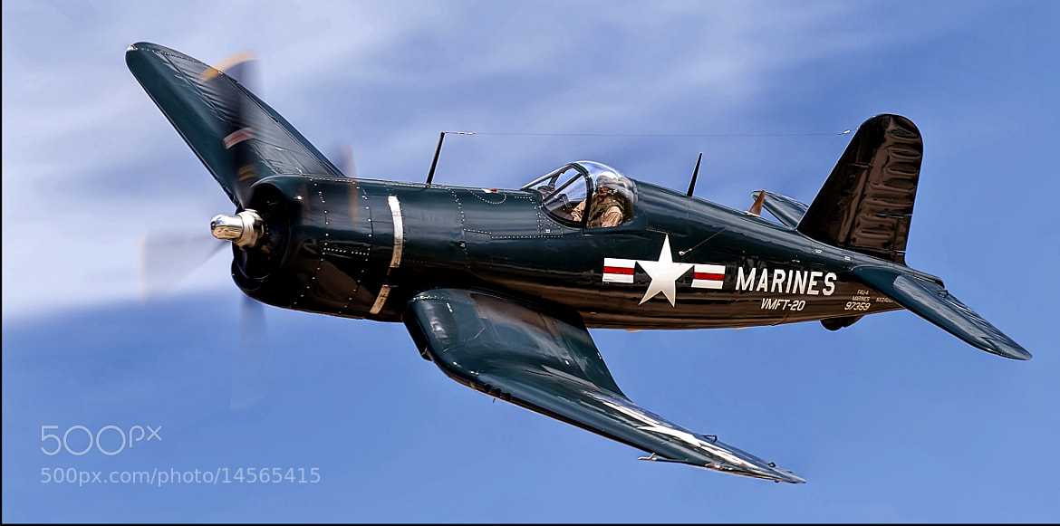 Photograph Corsair!! by Richard  Small on 500px