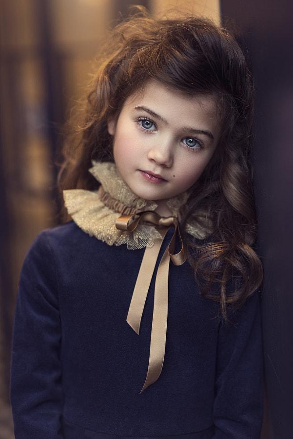 charming beautiful girl