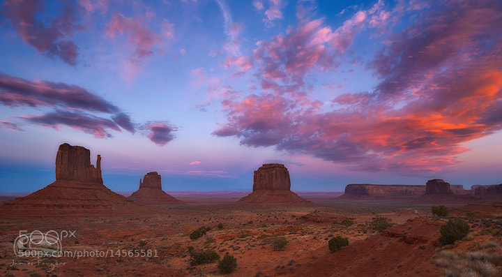 "Photograph ""NAVAJO VALLEY"" by James Fougere on 500px"