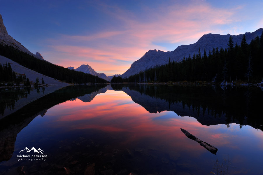 Photograph Elbow Lake Sunrise by mike pedersen on 500px