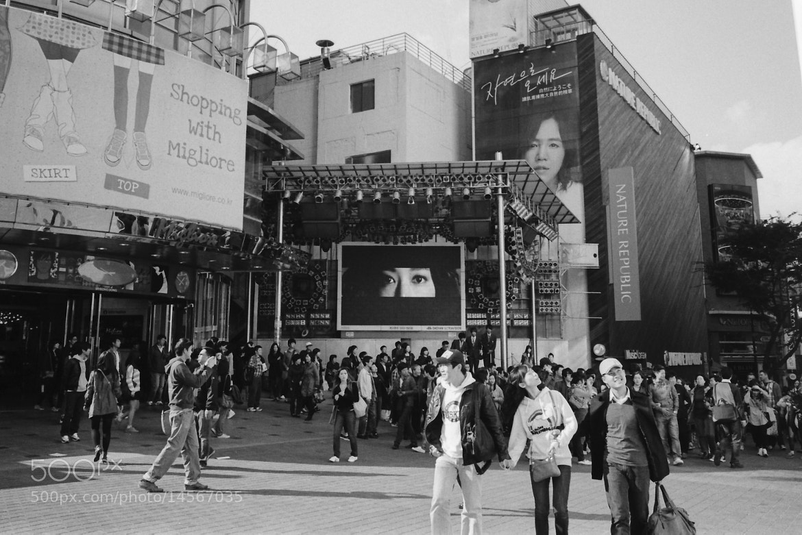 Photograph Myeongdong by Devin Jones on 500px