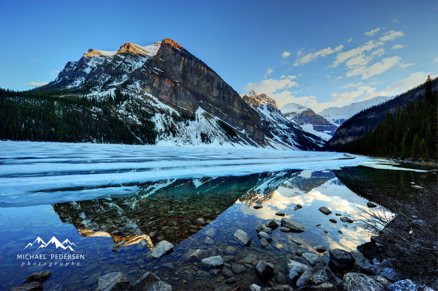 Photograph Freezing, Lake Louise, Banff by mike pedersen on 500px