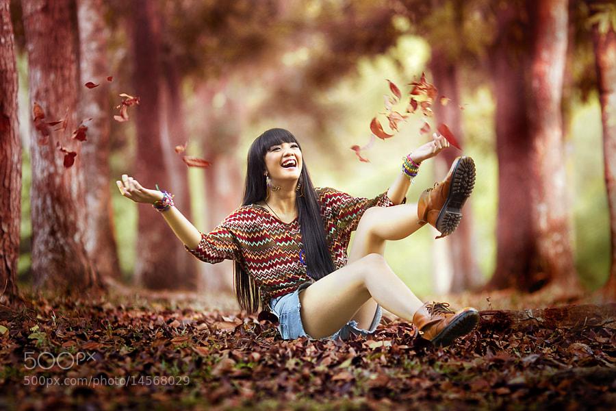 Photograph Autumn Glee by David Hendrawan on 500px