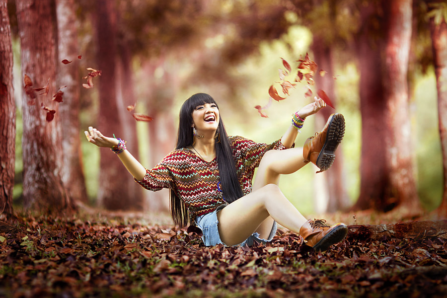 Photograph Autumn Glee by David Hendrawan on 500px
