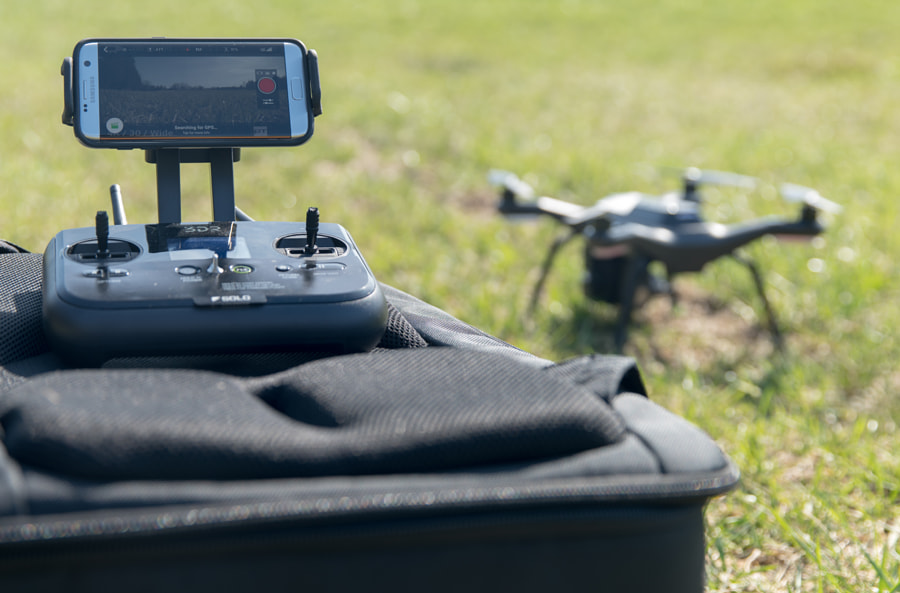 3DR SOLO, Samsung Galaxy S7 Edge by Blue Ridge Visuals on 500px.com