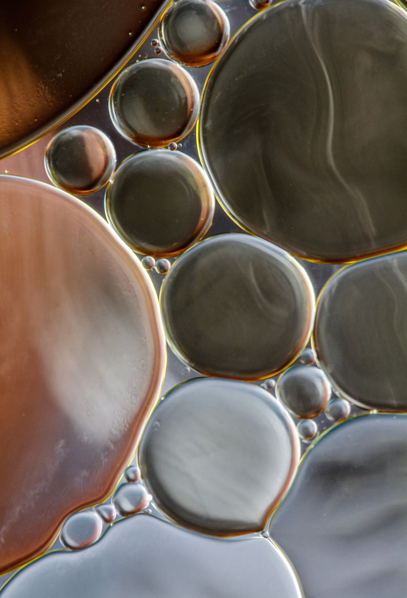 Photograph Oil and water by Mandy Disher on 500px