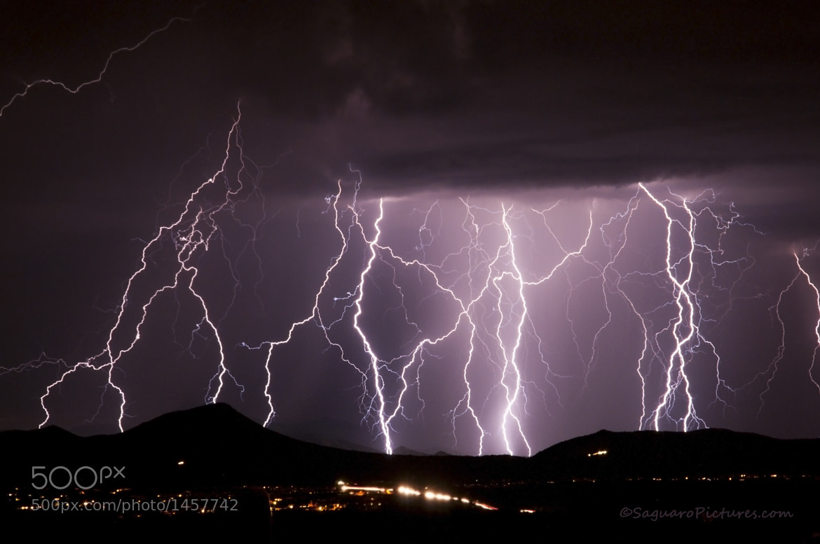 Photograph The Ultimate Light Show by Greg McCown on 500px
