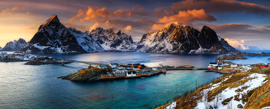 Reine, Lofoten, Norway by Sven Broeckx on 500px.com