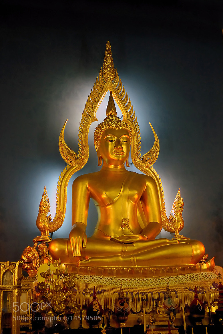Photograph Golden Buddha by Arvind Balaraman on 500px