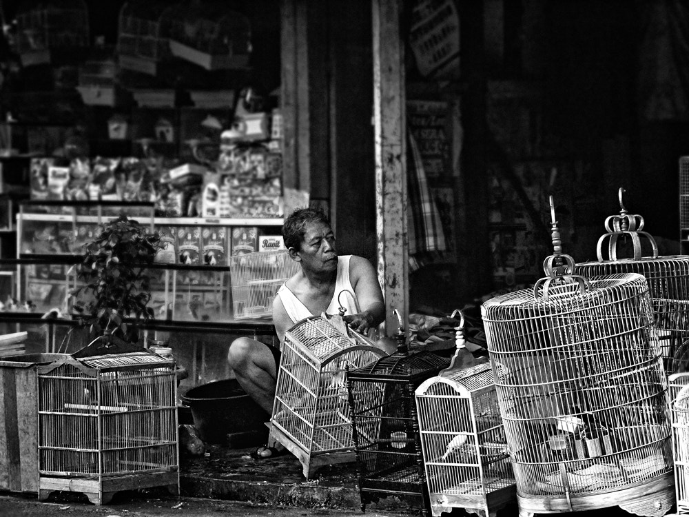 Photograph cleaning the cage by Irawan Subingar on 500px