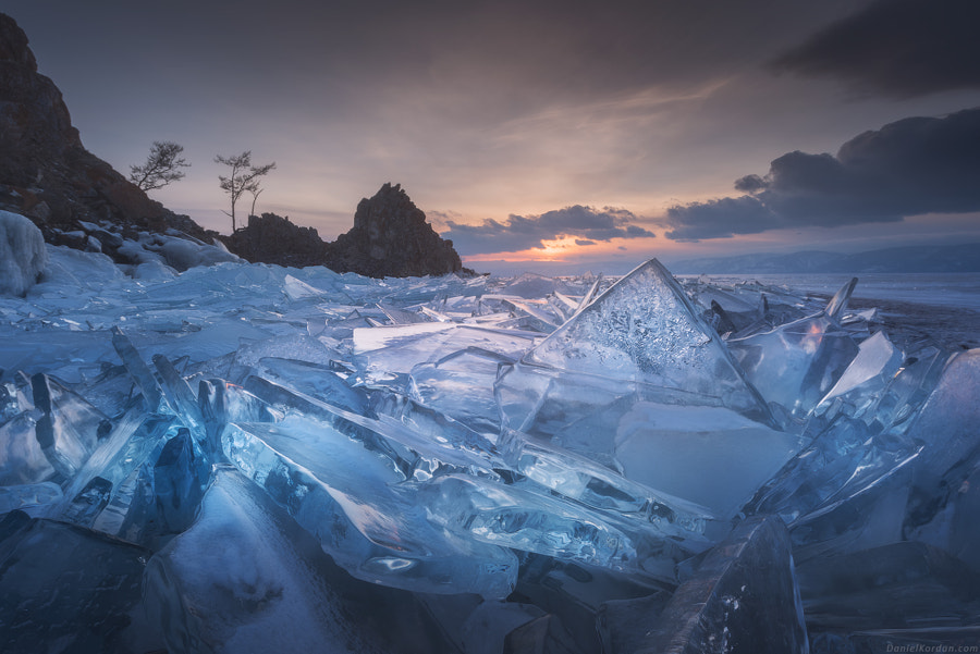Landscape Fine Art Photography, Baikal Ice Field by nature and landscape photographer Daniel Kordan
