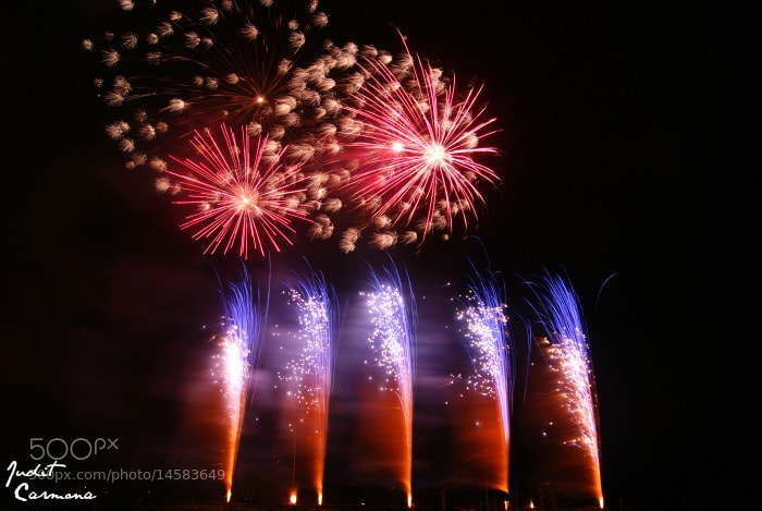 Photograph Fireworks by Judit Carmona Martorell on 500px