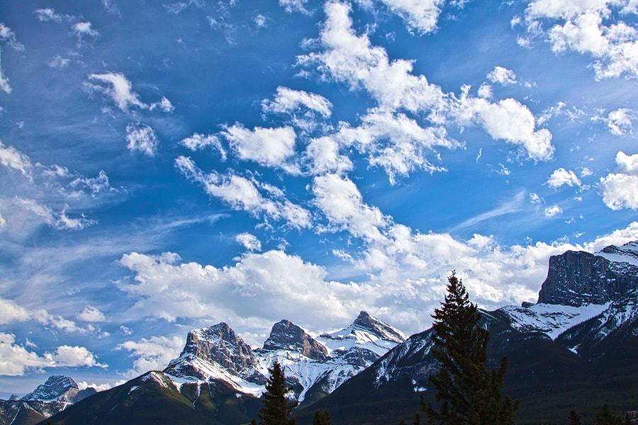 Three Sisters Canmore by John Entwistle on 500px.com