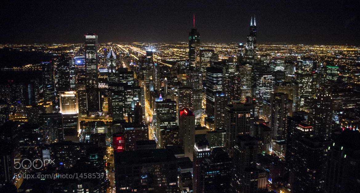 Photograph Chicago At Night by Duane Bender on 500px