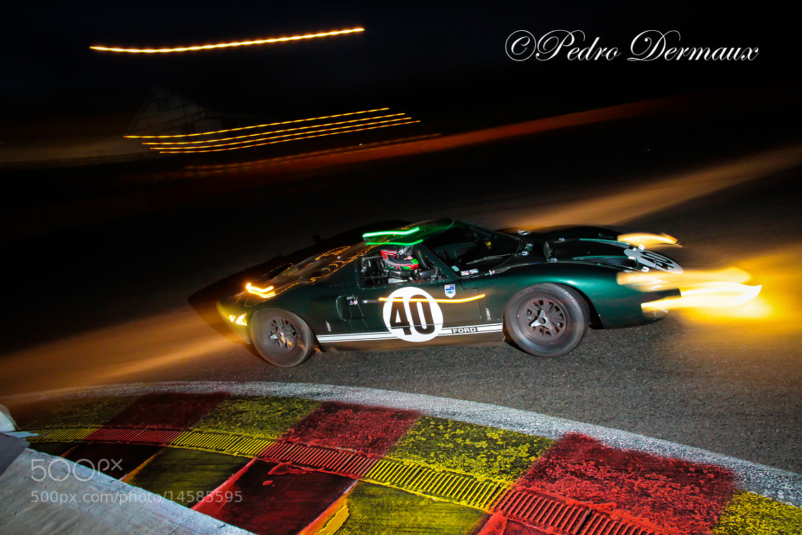 Photograph GT40 at La Source in the dark by Pedro Dermaux on 500px