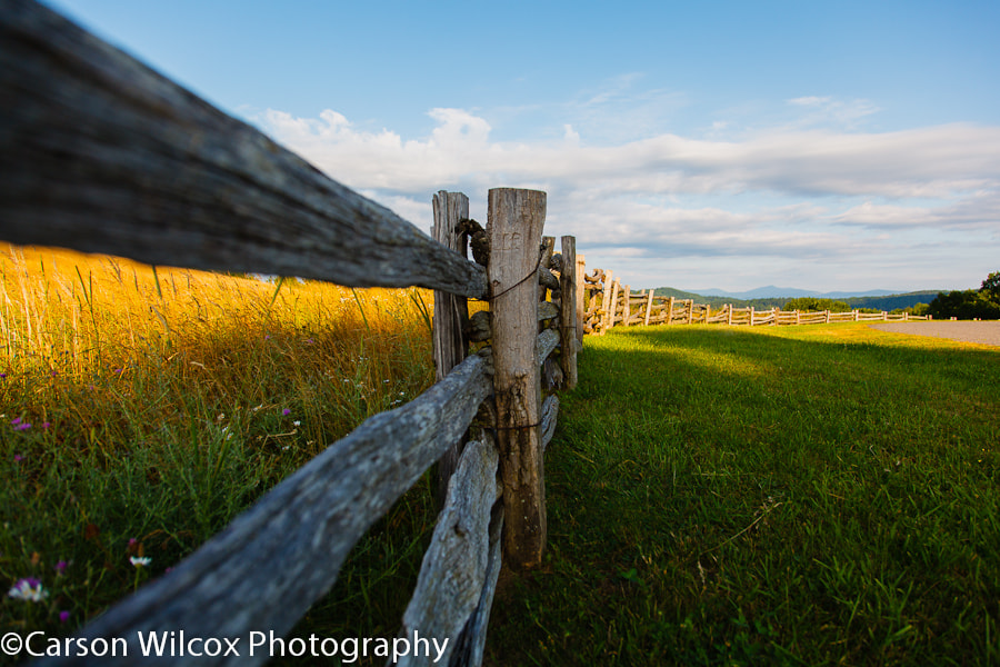 Photograph  Fence Line by Carson Wilcox on 500px