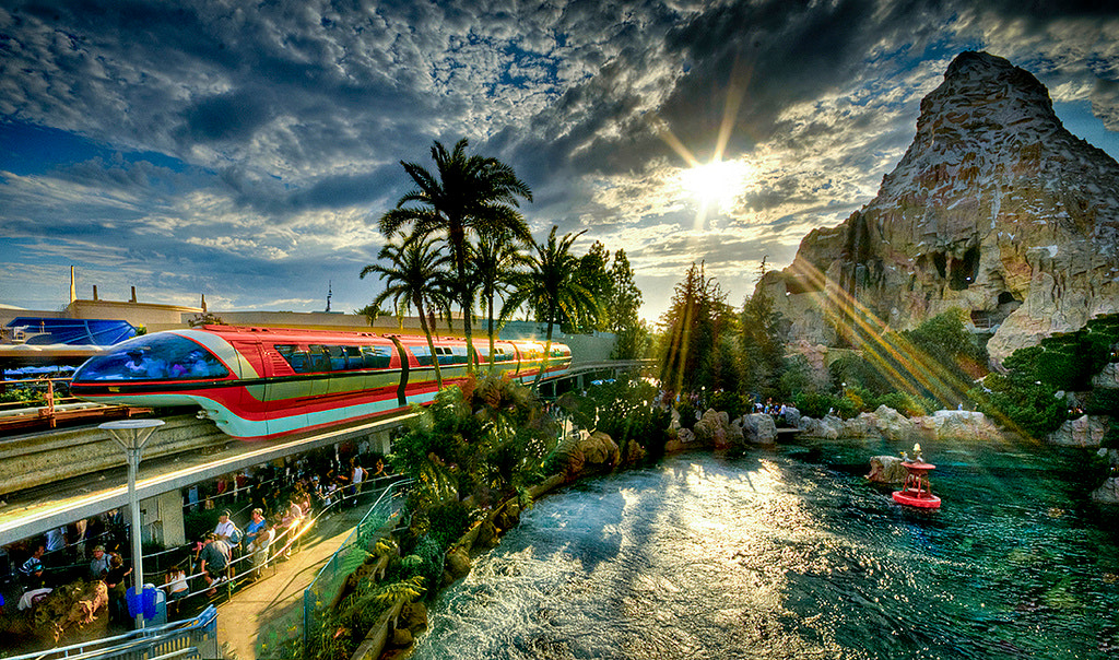 Photograph Leaving Tomorrowland by William McIntosh on 500px