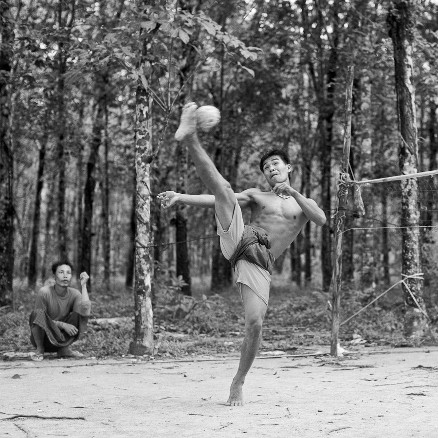 Photograph Thai kick volleyball - Sepak Takraw by Alain Schneuwly - One Eye Sees, The Other Feels on 500px