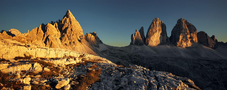 Photograph Dolomites - Tre Cime di Lavaredo   Drei Zinnen  by Kilian Schönberger on 500px