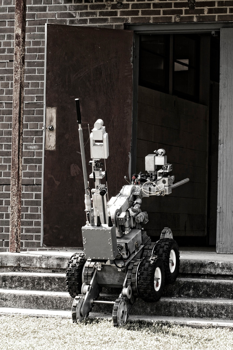 Photograph Bomb Robot by Brian Gottleib on 500px