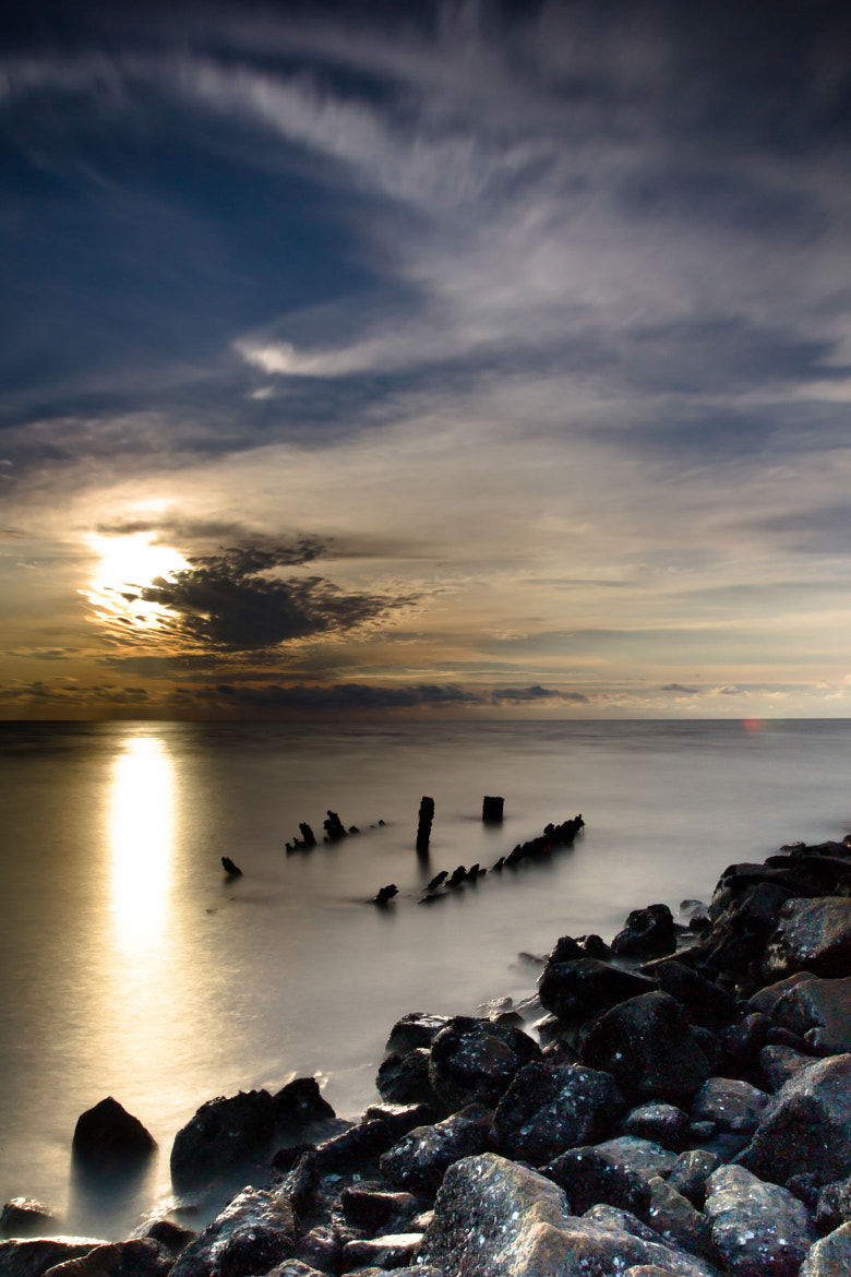 Photograph Sunset Sekinchan Pantai Redang by Donnie Tan on 500px