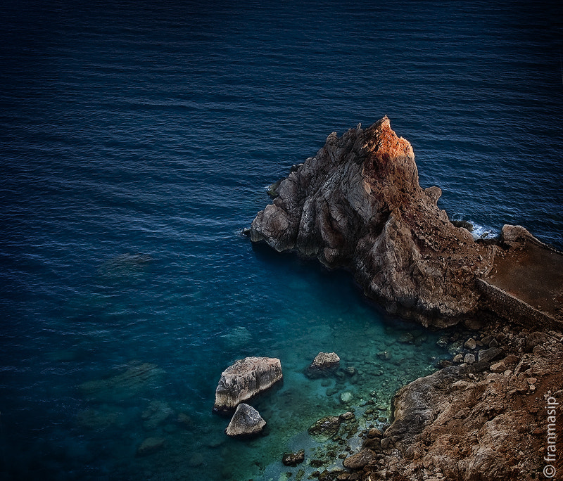 Photograph The last light of day by Fran Masip on 500px