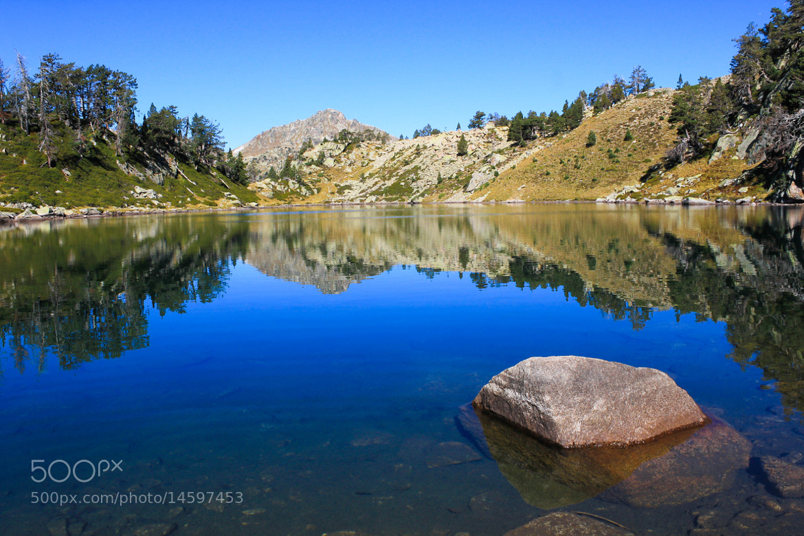 Photograph Lac in the Mountain by Nicolas SALVA on 500px