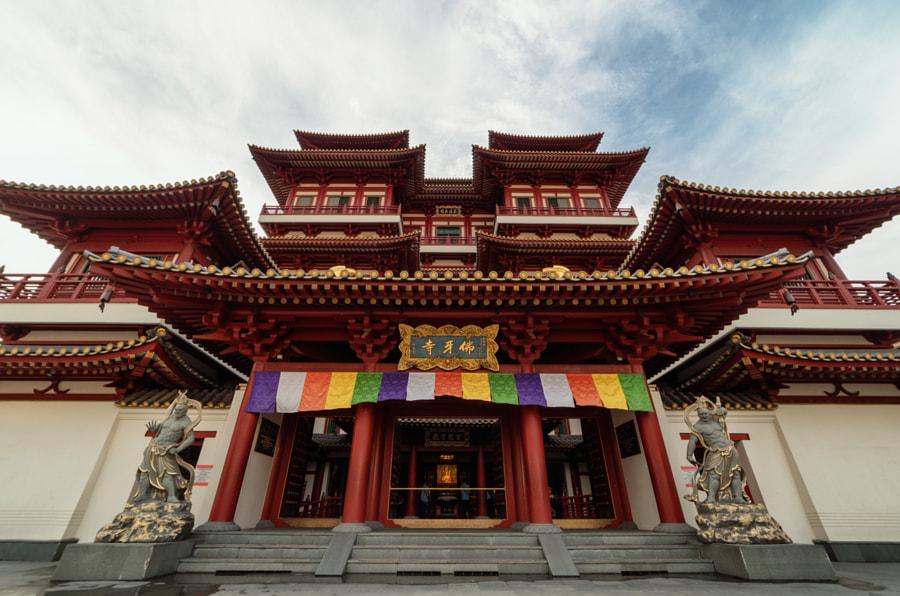 Buddha Tooth Relic Temple von Johannes Toenne auf 500px.com