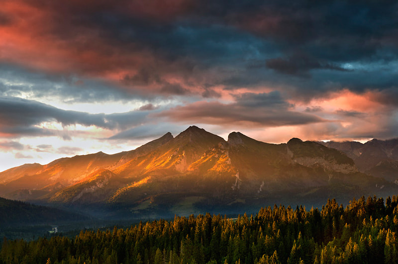 Photograph Tatras light by Marcin Kesek on 500px