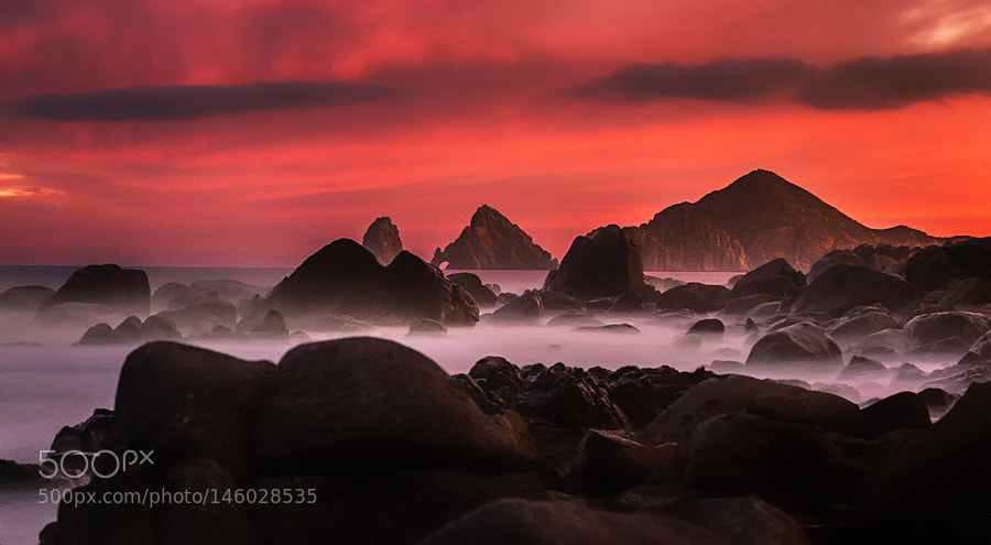 red sunset by orlandolover_81