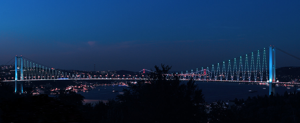 """Photograph """"from europe to asia .... (double bridge)"""" by e&e photography on 500px"""