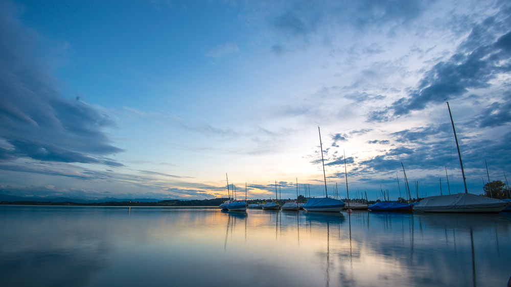Photograph Boats in the dawn by Severin Lang on 500px