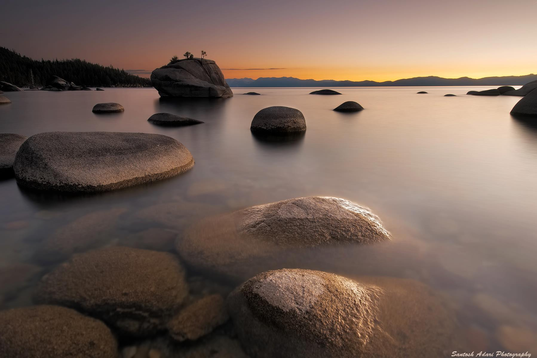 Photograph Bonsai Rock, Lake Tahoe by Santosh Adari on 500px