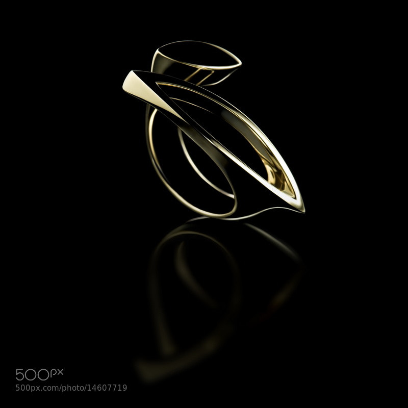 Photograph  Line art ring by Daniel Nagy on 500px