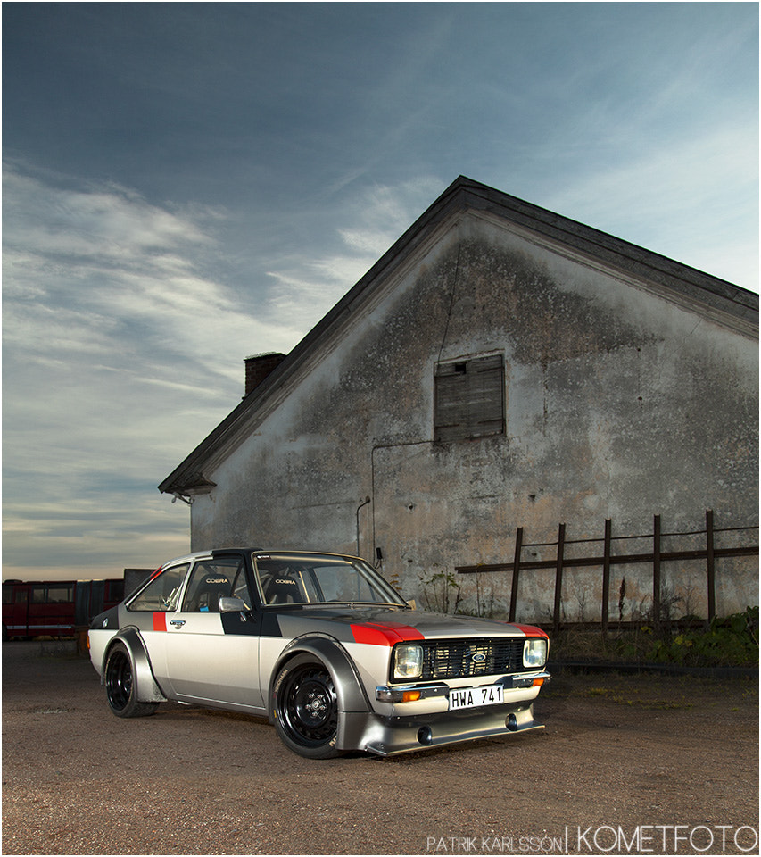 Photograph Escort MKII With Audi 5cyl Turbo by Patrik  Karlsson on 500px