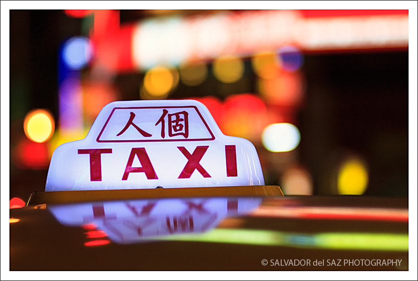 Photograph Taipei's Cabs I by Salvador del Saz on 500px